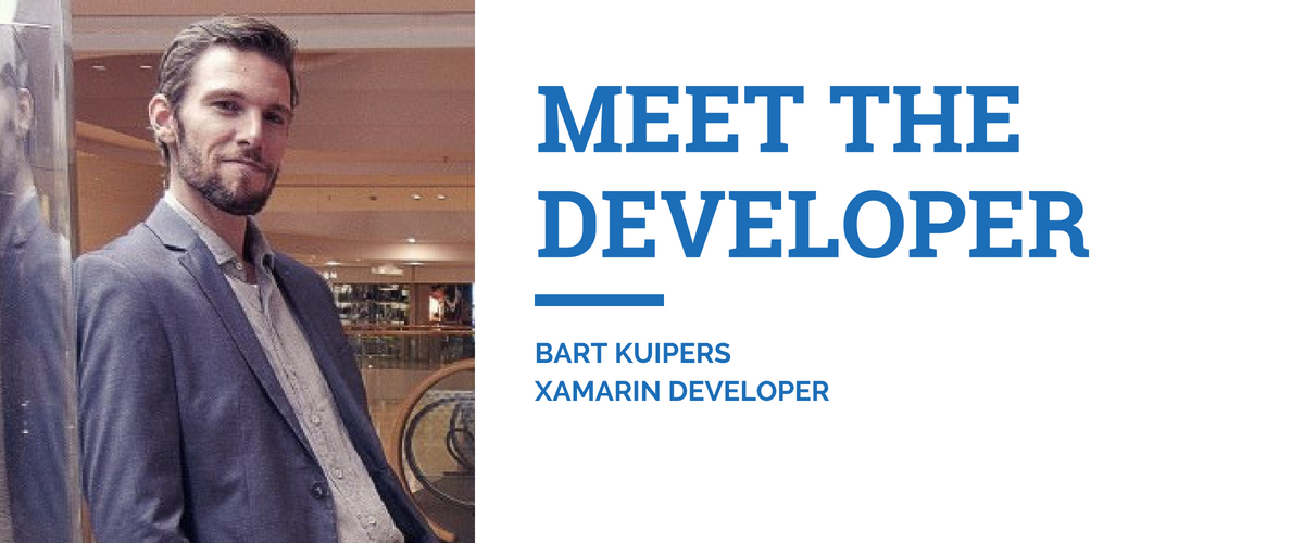 Meet Bart Kuipers Xamarin Developer
