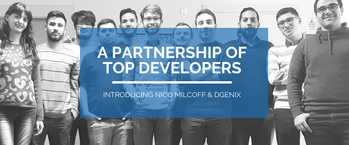 Nico Milcoff & DGenix partnership