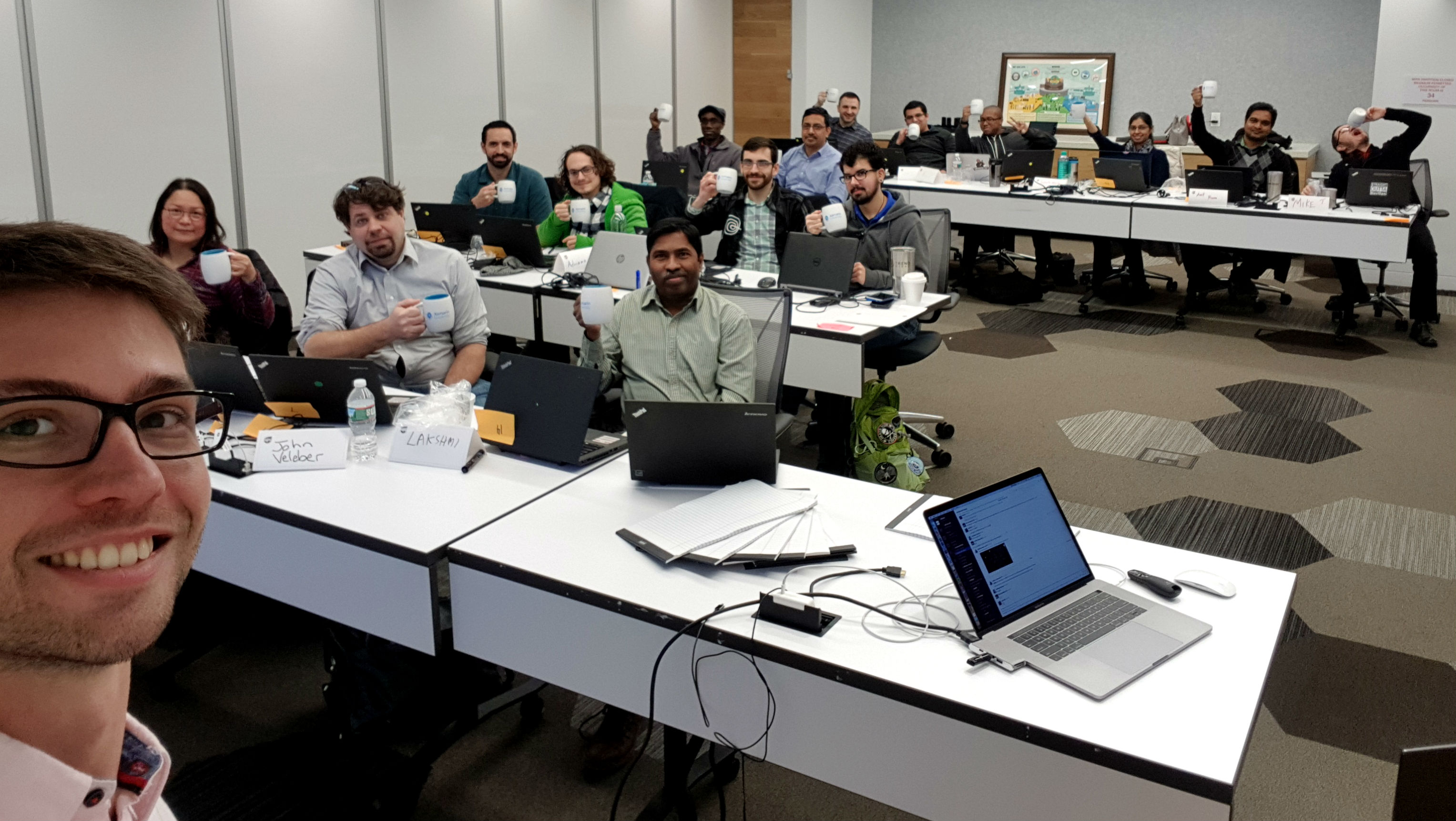 Xamarin training at UPS Innovation Center